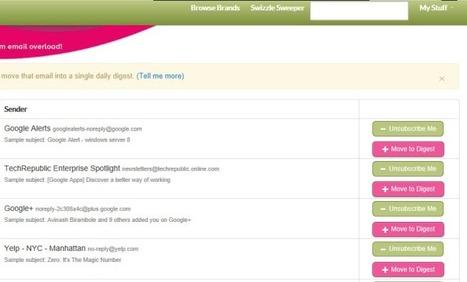 Swizzle. Toutes vos newsletters en une seule. | Les news du Web | Scoop.it