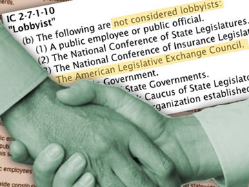 ALEC Gets a Break From State Lobbying Laws | CP ALEC Intervention | Scoop.it