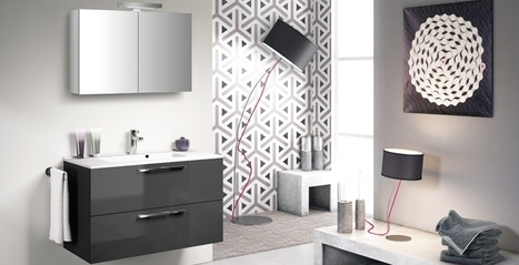 meuble bas salle de bain aubade. Black Bedroom Furniture Sets. Home Design Ideas