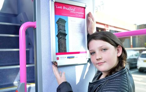 Young poets pen pieces for bus passengers to read on their journeys | Pure Poetry | Scoop.it