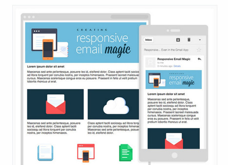 20 Free Email Templates with Responsive Designs | El Mundo del Diseño Gráfico | Scoop.it