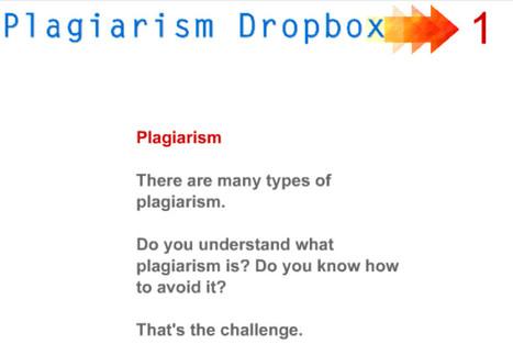 21cif:  Plagiarism DropBox:  Online Tutorials | 6-Traits Resources | Scoop.it