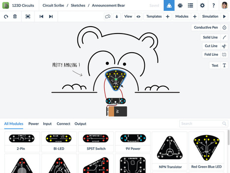 123D Circuits | Electrify Your Napkin Sketches With Circuit Scribe | MakerSpace in the School Library Media Center | Scoop.it