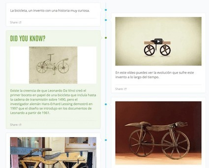 Usando Hstry, la historia de la bicicleta | Recursos Educativos para ESO, Geografía e Historia | Scoop.it