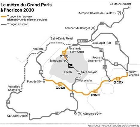 """ITW de rentrée de P. Yvin : """"Le Grand Paris Express emploie déjà 4.000 salariés"""" [A lire]   Le Grand Paris sous toutes les coutures   Scoop.it"""
