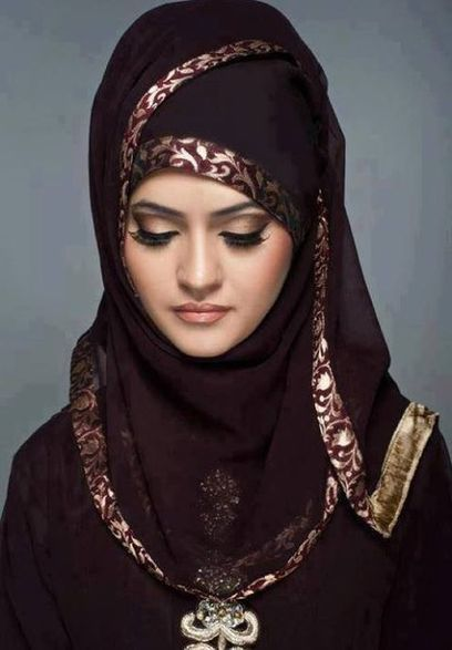 Beautiful Hijab for Girls, Arabian Hijab Style for Girls 2013 | Indian Ramp | Abaya Online Collection | Scoop.it