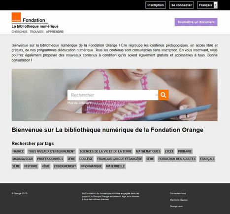 La «Bibliothèque Numérique» est ouverte! | Apprendre à l'ère numérique | Scoop.it