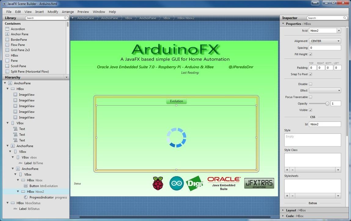 JPereda's Coding Blog: ArduinoFX: A JavaFX GUI