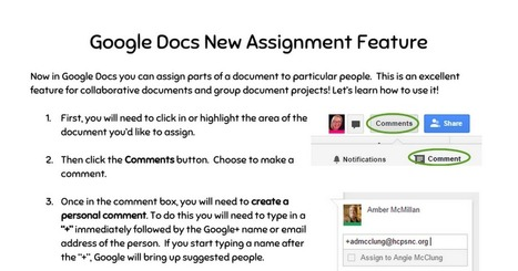 Google Docs Assignment Feature | Using Google Drive in the classroom | Scoop.it