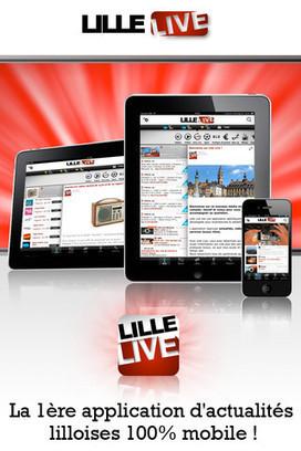 Lille passe au SoLoMo avec l'application Lille Live | J'aime la mobilité et la techno | Scoop.it