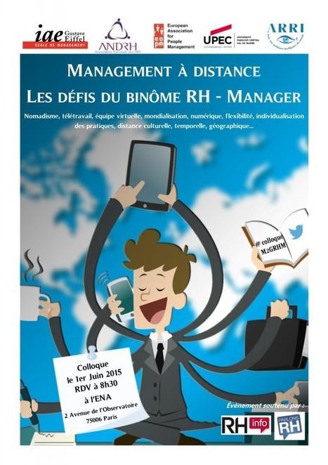 Management à distance : les nouveaux défis du binôme RH - Manager | Ressources Humaines | Scoop.it