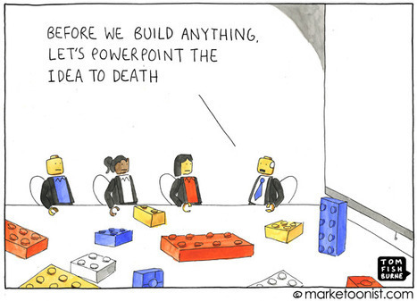 """""""powerpoint the idea"""" cartoon 