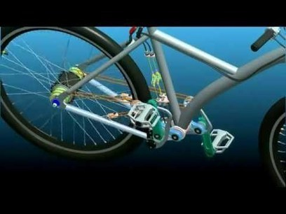 Chainless Bicycle STRINGBIKE(mani4astro) Inventions - Albert Einstein Inventions | Interesting Engineering | Scoop.it