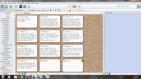 AuthorCulture: Guest Post: Is Scrivener Right For You? with Naomi Musch | Writing for Kindle | Scoop.it