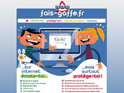 Protéger les enfants des dangers d'internet avec fais-gaffe.fr   tice   Scoop.it