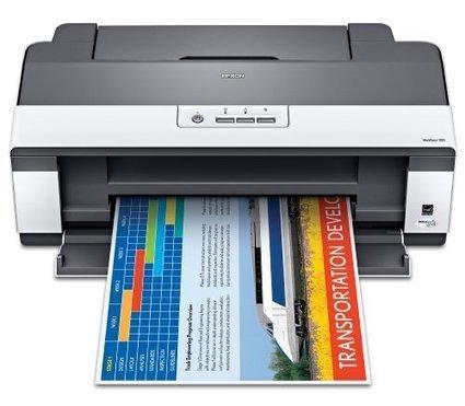 Epson WorkForce 1100 Wide Format Color Inkjet Printer C11CA58201