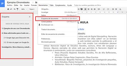 Google Docs, el cuaderno de trabajo ideal para nuestros alumnos | Entorns Virtuals d'Aprenentatge i Recursos Educatius WEB 2.0 | Scoop.it