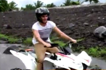 Exclusive:  Zac enjoys ATV, carabao rides in Bicol | It's More Fun in the Philippines | Scoop.it