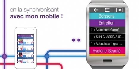 Carrefour lance la liste de courses sur montre connectée | Divers | Scoop.it