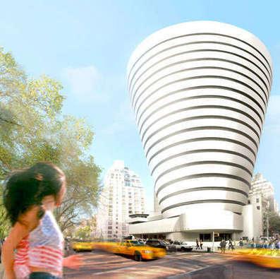 Spiraling Cone-Shaped Buildings | Arte y Fotografía | Scoop.it
