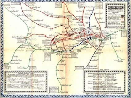 dy/dan » Blog Archive » [LOA] London Underground Maps | Visualisation | Scoop.it