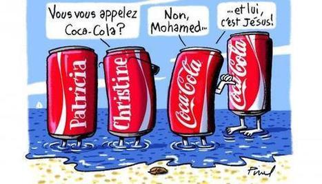 Dessin de la semaine : Mohamed et Jésus interdits de Coca-Cola | L'actualité en Europe | Scoop.it