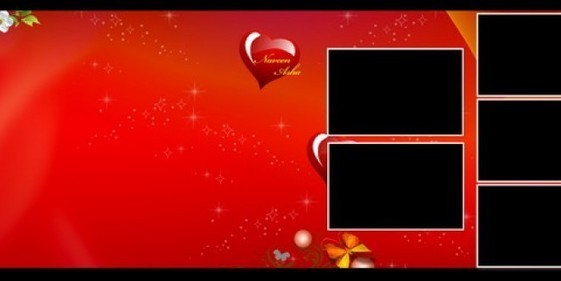 3d Red Karizma Album Psd Backgrounds Free Downl