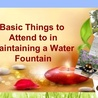 Tips to choose the best indoor water fountains for office