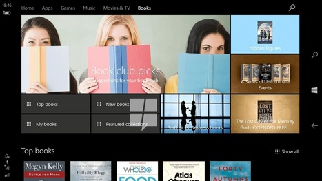 First look at Windows 10's upcoming store for e-books | Ebook and Publishing | Scoop.it