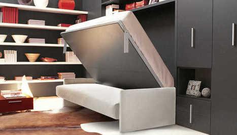 Trápite sa s malým priestorom? Investujte do funkčného nábytku. Neoľutujete | domov.kormidlo.sk | Scoop.it