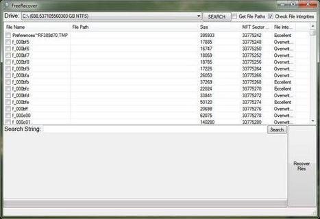FreeRecover, software portable y gratuito para recuperar archivos borrados de memorias USB | Al calor del Caribe | Scoop.it