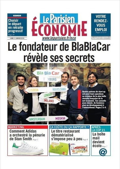 #Media > Le Parisien Economie s'étoffe de 16 pages #BtoB #Corporate #RP @LeParisien_Eco @LesEchos | Communication Digital x Media | Scoop.it