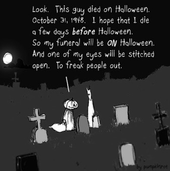 Begging for Candy - Halloween Comic by Pumpkinrot | Halloween | Scoop.it