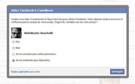 Facebook vous demande de dénoncer vos amis à pseudonyme…   Toulouse networks   Scoop.it