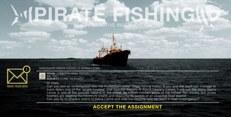 Hunting pirate fishermen on the high seas | Narration transmedia et Education | Scoop.it
