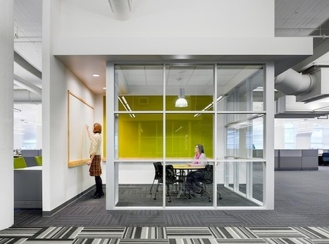 century office. 4 Factors To Designing Workspaces For People\u0027s Behaviors | Work Environments The 21st Century Office