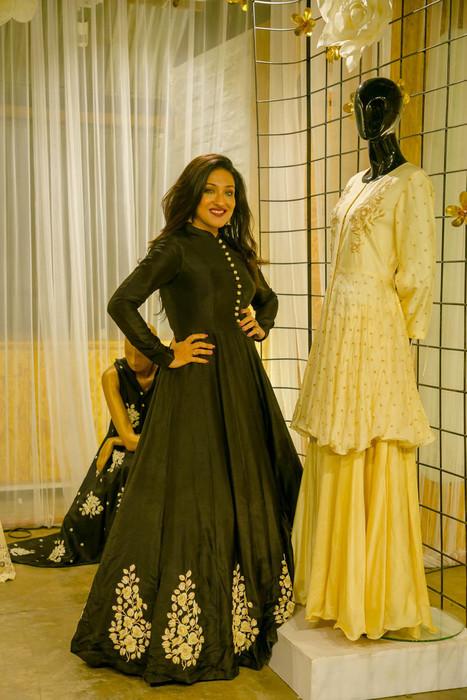 Devika Churiwal Party Wear Designer Attires For