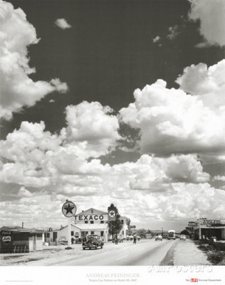Route 66, Arizona, 1947 Prints by Andreas Feininger | The Blog's Revue by OlivierSC | Scoop.it