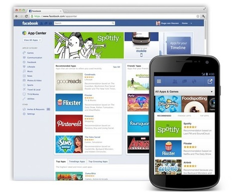 Facebook Launches App Center: time for the Store of Stores? | Binterest | Scoop.it