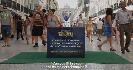Ford crée un trophée que seuls les enfants peuvent soulever   streetmarketing   Scoop.it