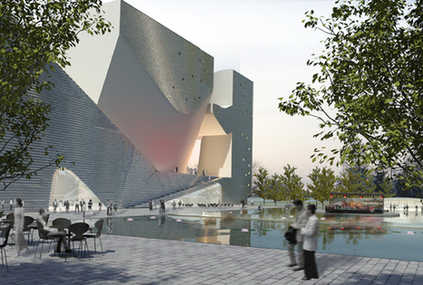 Ecology and Planning Museum by Steven Holl in Tianjin, China's New Eco-City   D'Dline 2020, vecteur du bâtiment durable   Scoop.it