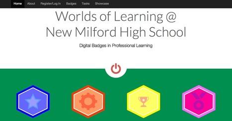 Digital Badge Professional Learning Platform | Libraries | Scoop.it