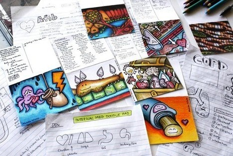 People who doodled were able to remember 29% more information than nondoodlers, a study found | Neuroscience - Memory - Learning - Mindfulness - Motivation | Scoop.it