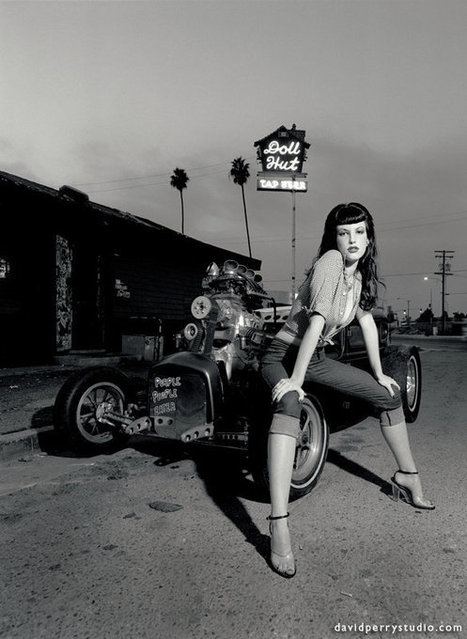 David Perry's Hot Rods and Pin Up Girls | sadmanstongue | Rockabilly | Scoop.it