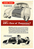 Are These GM's Cars of Tomorrow? | 1950's | Scoop.it