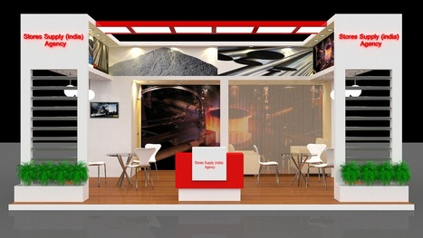 Exhibition Stall Fabricators Hyderabad : Exhibition stall fabrication concept makerz
