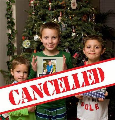 Christmas is canceled! One mom explains why she did it | Morning Radio Show Prep | Scoop.it
