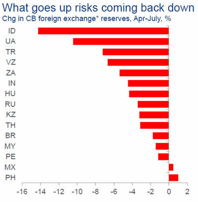 Why Emerging Market FX Has Further To Fall | A World of Debt | Scoop.it