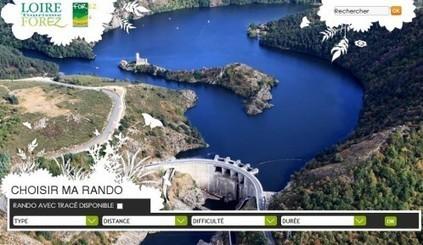 Loire-Forez : un nouveau site dédié aux randos... | Actualités pour les professionnels du Tourisme | Scoop.it