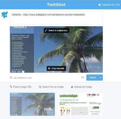 Comment ajouter automatiquement une image à un tweet, TwitShot | Les Infos de Ballajack | Les associations, Internet, et la communication | Scoop.it